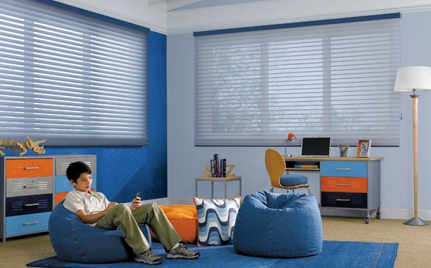 Boys room blinds